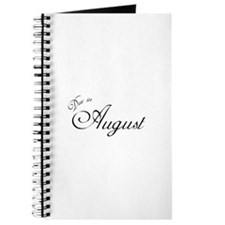 Due In August Formal Script Journal