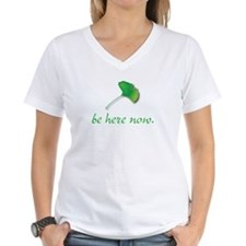 Be Here Now. Ginkgo leaf Shirt