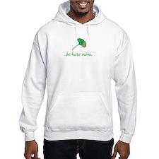 Be Here Now. Ginkgo leaf Hoodie