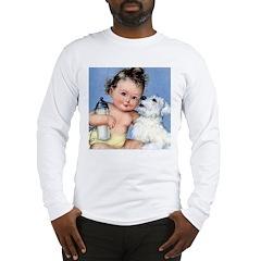 Baby Bottle Long Sleeve T-Shirt