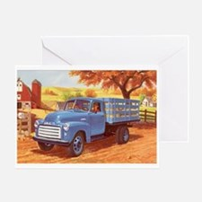 1952 GMC Stakeside Truck Greeting Card