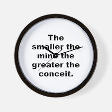 Unique Conceit Wall Clock