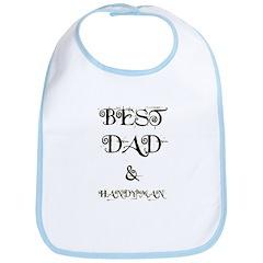 BEST DAD & HANDYMAN Bib