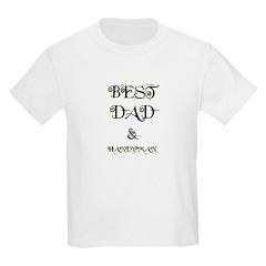 BEST DAD & HANDYMAN Kids T-Shirt