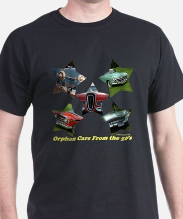 """Orphan Cars of the 50's"" T-Shirt"