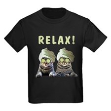 relaxed spa cats T