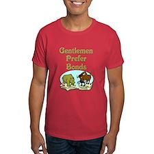Gentlemen Prefer Bonds T-Shirt