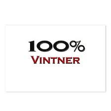 100 Percent Vintner Postcards (Package of 8)