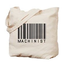 Machinist Barcode Tote Bag