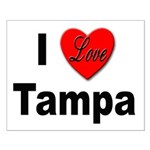 I Love Tampa Small Poster