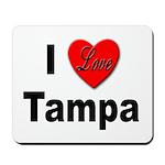 I Love Tampa Mousepad