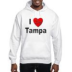 I Love Tampa (Front) Hooded Sweatshirt