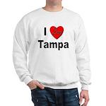 I Love Tampa (Front) Sweatshirt