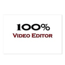 100 Percent Video Editor Postcards (Package of 8)
