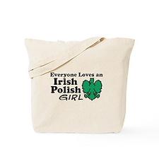 Irish Polish Girl Tote Bag
