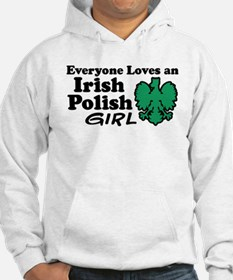 Irish Polish Girl Hoodie