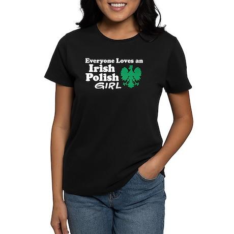 Irish Polish Girl Women's Dark T-Shirt