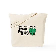 Irish Polish Boy Tote Bag
