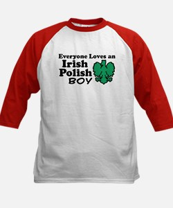 Irish Polish Boy Kids Baseball Jersey