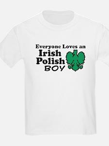 Irish Polish Boy T-Shirt