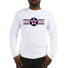 Vandenberg Air Force Base Long Sleeve T-Shirt