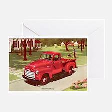 1952 GMC Pickup Greeting Card
