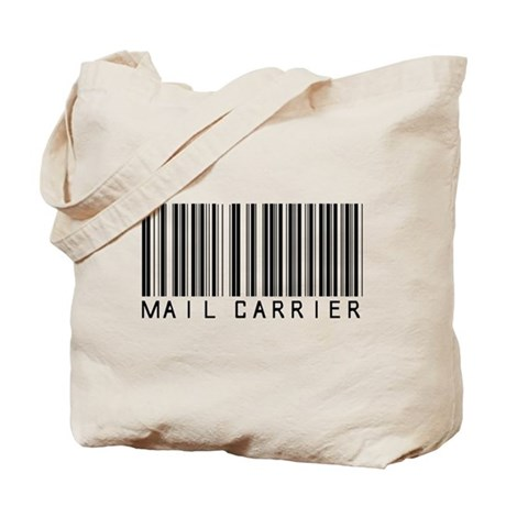 Mail Carrier Barcode Tote Bag