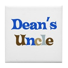 Dean's Uncle Tile Coaster
