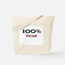 100 Percent Vicar Tote Bag