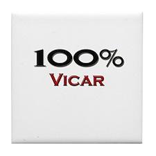 100 Percent Vicar Tile Coaster