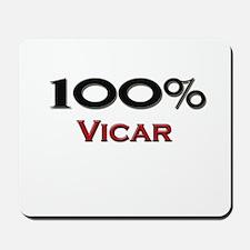 100 Percent Vicar Mousepad