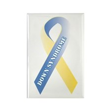 Down Syndrome Awareness Rectangle Magnet