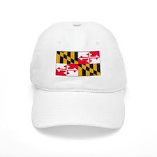 Maryland Blank Flag Baseball Cap
