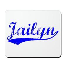 Vintage Jailyn (Blue) Mousepad