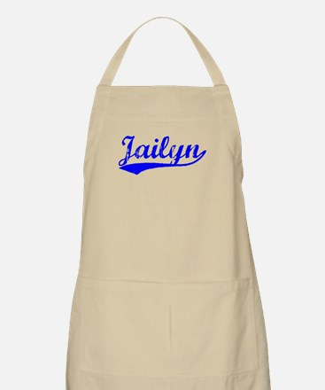 Vintage Jailyn (Blue) BBQ Apron