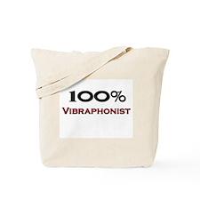 100 Percent Vibraphonist Tote Bag