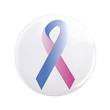 """Pink Blue Awareness 3.5"""" Button (100 pack)"""