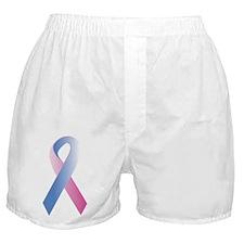 Pink Blue Awareness Boxer Shorts