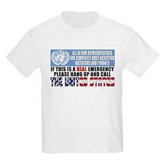 Anti United Nations Kids T-Shirt
