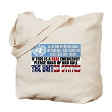 Anti United Nations Tote Bag