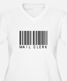 Mail Clerk Barcode T-Shirt