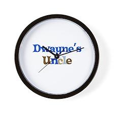 Dwayne's Uncle Wall Clock
