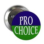 Pro-Choice Button (metal pinback)