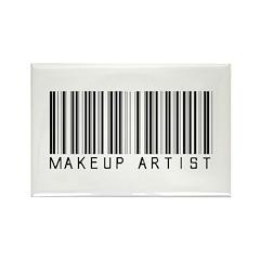 Makeup Artist Barcode Rectangle Magnet (10 pack)