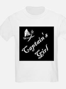 Captain's Girl Kids T-Shirt