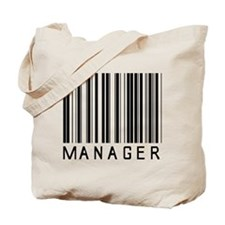 Manager Barcode Tote Bag