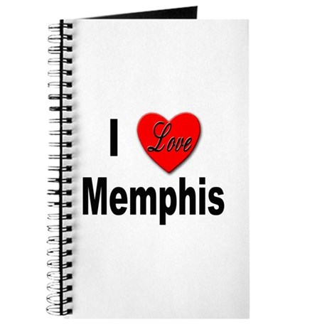 I Love Memphis Tennessee Journal