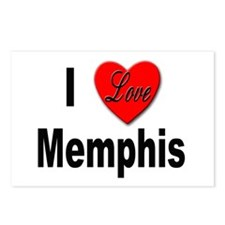 I Love Memphis Tennessee Postcards (Package of 8)
