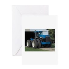 Ford New Holland 4 wd tractor Greeting Card