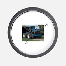 Ford New Holland 4 wd tractor Wall Clock